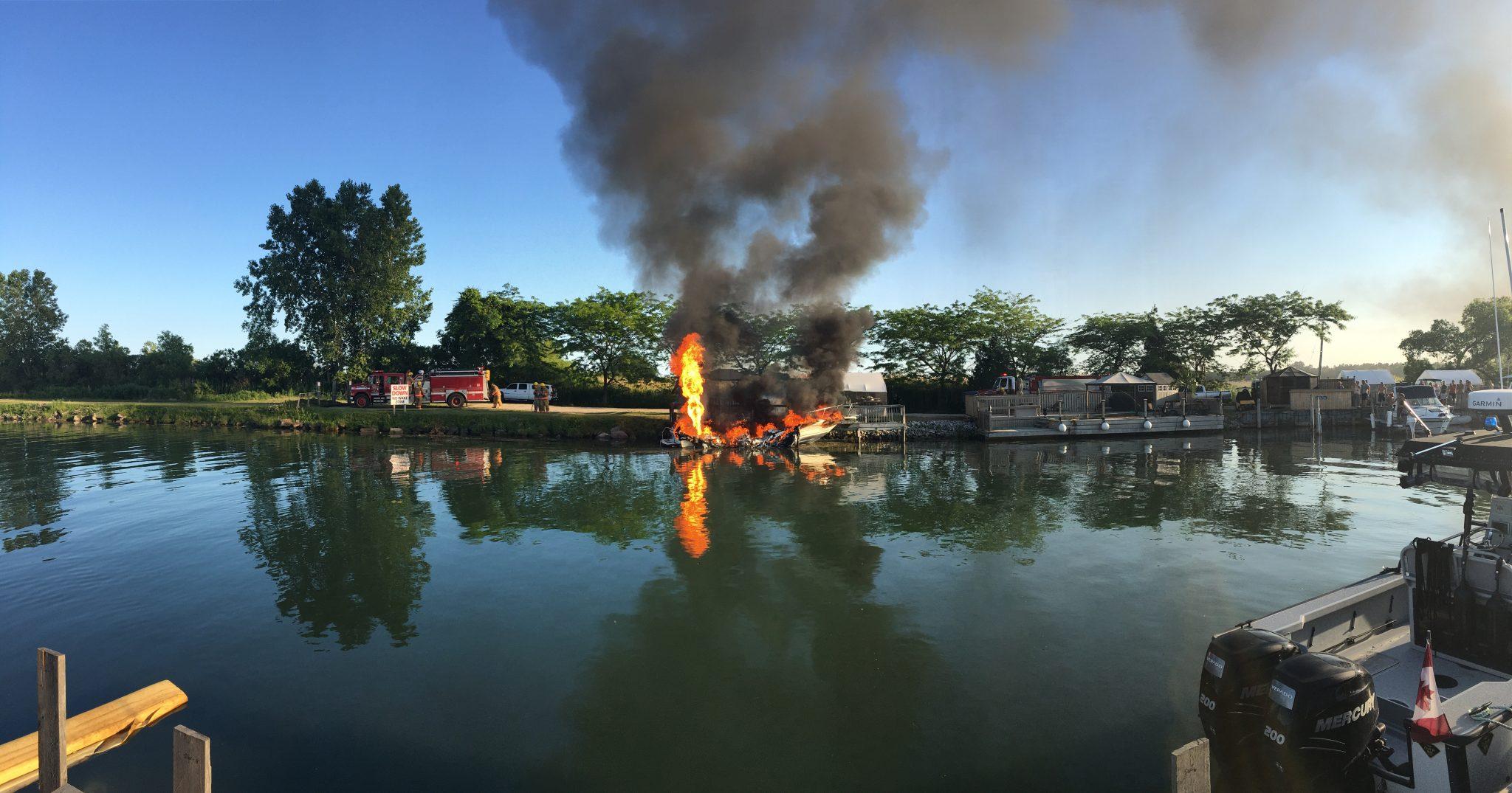 danny macdonald's photo of fire