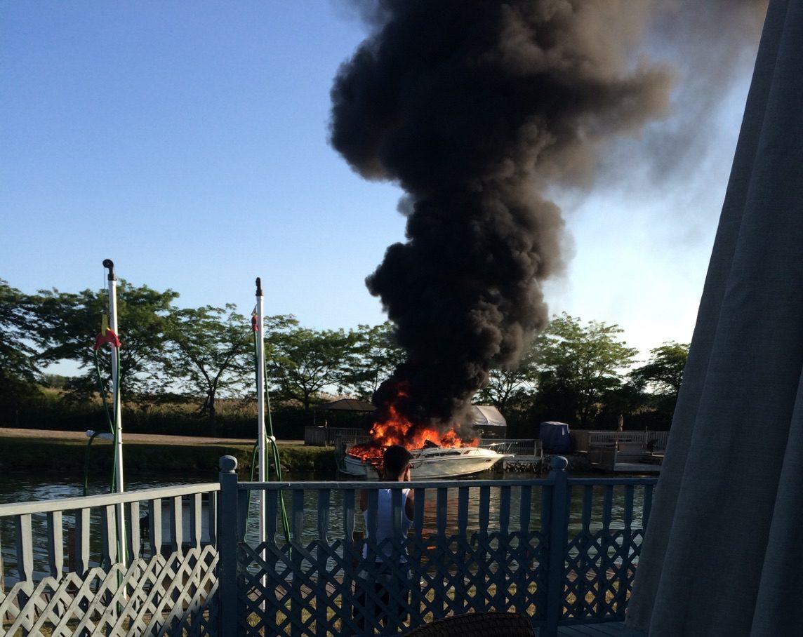 boat fire start